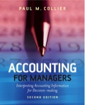 Accounting for Managers: Interpreting Accounting Information for Decision-Making - Whole