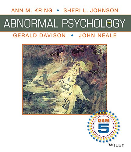Abnormal Psychology: DSM-5 Update, Wiley International Edition