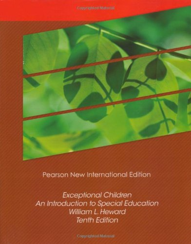 Exceptional Children: Pearson New International Edition