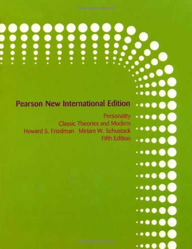 Personality: Pearson New International Edition