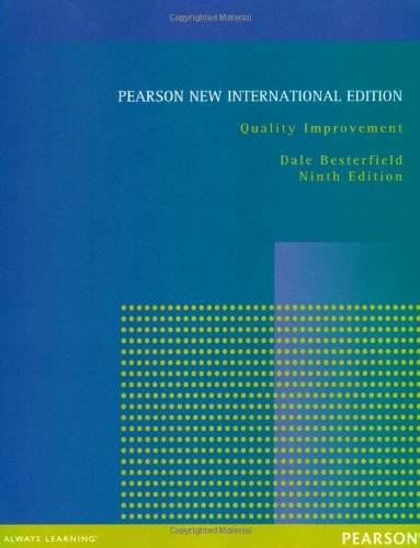 Quality Improvement: Pearson New International Edition