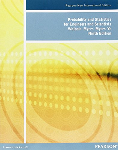 Probability and Statistics for Engineers and Scientists: Pearson New International Edition