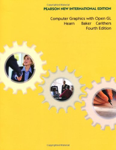 Computer Graphics with Open GL: Pearson New International Edition