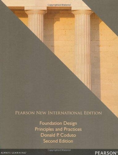 Foundation Design: Pearson New International Edition