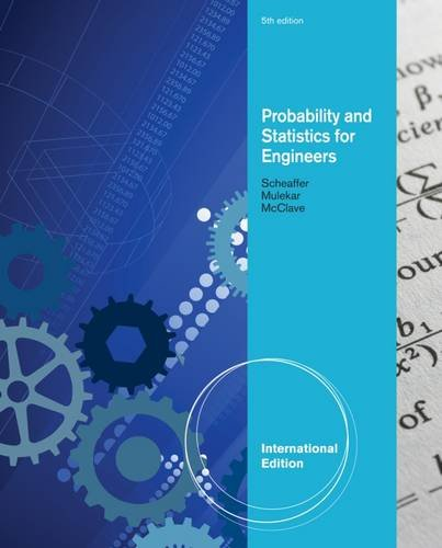 Probability and Statistics for Engineers, International Edition
