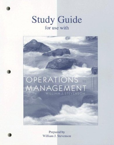 Operations Management Study Guide