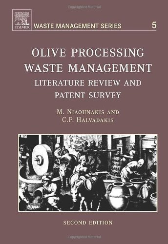 Olive Processing Waste Management: Literature Review and Patent Survey