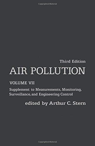 Air Pollution: Supplement to Measurements, Monitoring, Surveillance, and Engineering Control: 7 (Environmental Sciences)