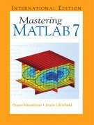 Mastering MATLAB 7:International Edition