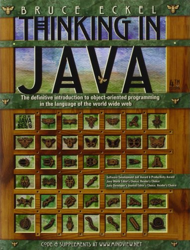 Thinking In Java By Bruce Eckel Ebook
