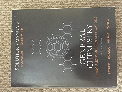 General Chemistry Solutions Manual: Principles and Modern Applications and Basic Media Pack