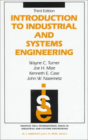 Introduction to Industrial and Systems Engineering (Prentice-Hall International Series in Industrial and Systems)