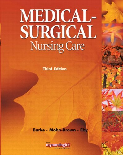 Medical Surgical Nursing Care