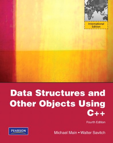 Data Structures and Other Objects Using C++: International Version