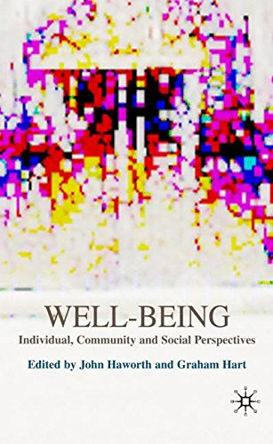 Well-Being: Individual, Community and Social Perspectives