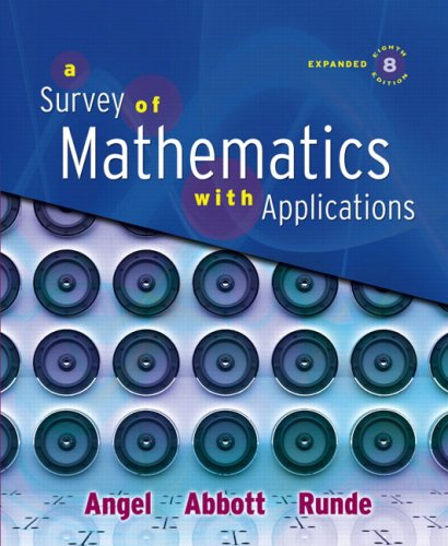 A Survey of Mathematics with Applications: Expanded Edition