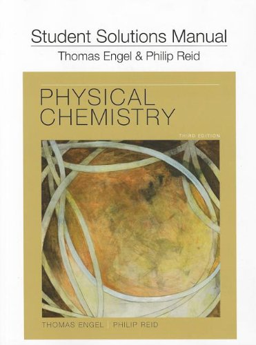Student s Solutions Manual for Physical Chemistry