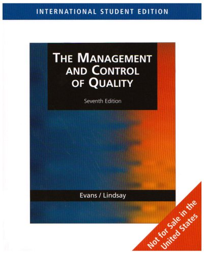 The Management & Control of Quality, International Edition (with CD-ROM)