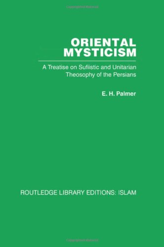 Oriental Mysticism (Routledge Library Editions: Islam)