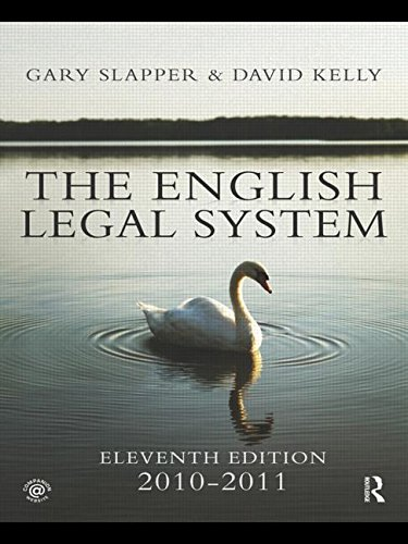 The English Legal System: 2010-2011
