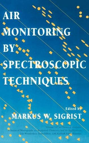 Air Monitoring by Spectroscopic (Chemical Analysis: A Series of Monographs on Analytical Chemistry and Its Applications)