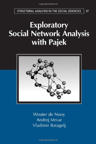 Exploratory Social Network Analysis with Pajek (Structural Analysis in the Social Sciences)