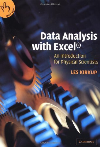 Data Analysis with Excel?: An Introduction for Physical Scientists