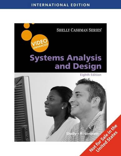 Systems Analysis and Design, Video Enhanced, International Edition