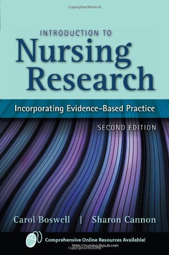 Introduction To Nursing Resea: Incorporating Evidence Based Practice