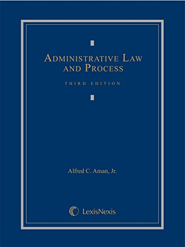 Administrative Law and Process