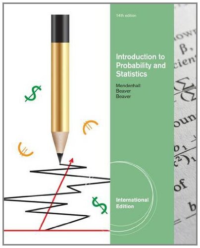 Introduction to Probability and Statistics, International Edition