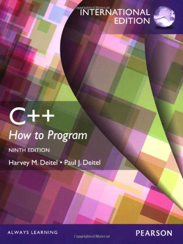 C++: How to Program with MyProgrammingLab and Etext