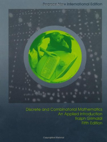 Discrete and Combinatorial Mathematics: An Applied Introduction