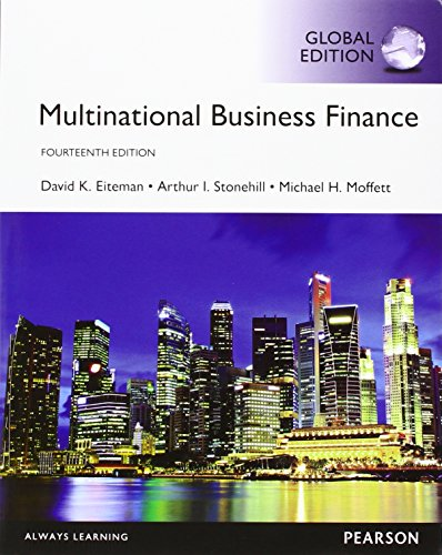 Multinational Business Finance with MyFinanceLab