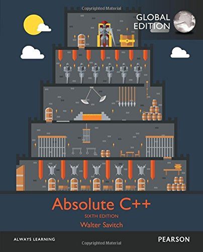 Absolute C++: International Edition 6.ed.