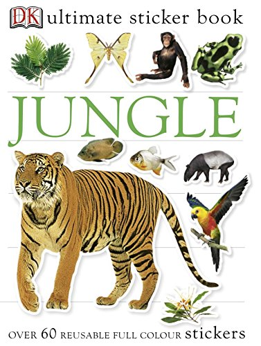 Jungle Ultimate Sticker Book (Ultimate Stickers)