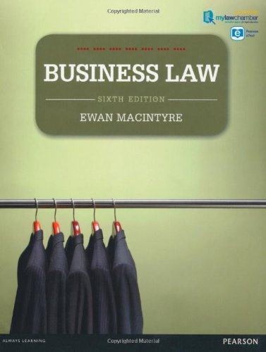 Business Law mylawchamber pack