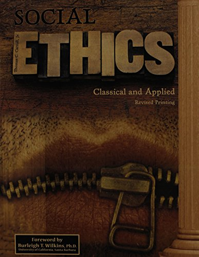 Social Ethics: Classical and Applied