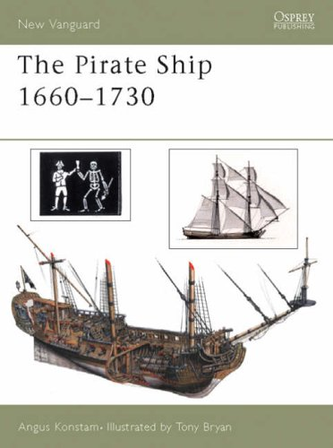 The Pirate Ship 1660-1730: 70 (New Vanguard)