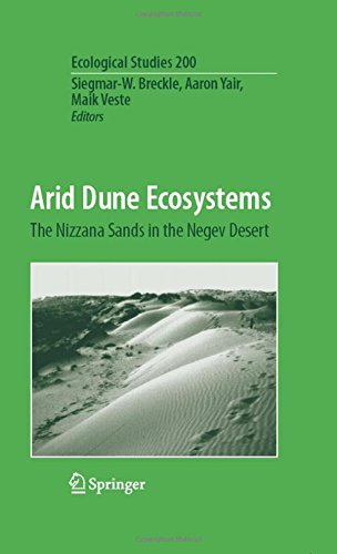 Arid Dune Ecosystems: The Nizzana Sands in the Negev Desert: Preliminary Entry 201 (Ecological Studies)