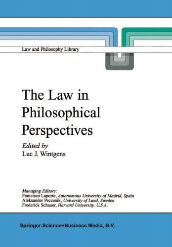 The Law in Philosophical Perspectives: My Philosophy of Law: Volume 41 (Law and Philosophy Library)