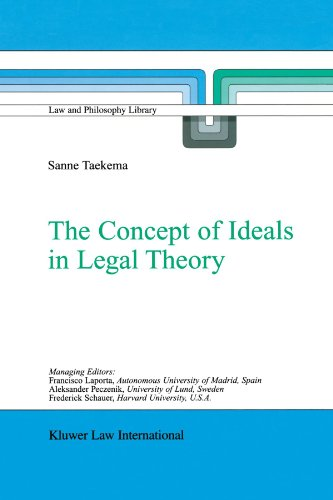 The Concept of Ideals in Legal Theory (Law and Philosophy Library)
