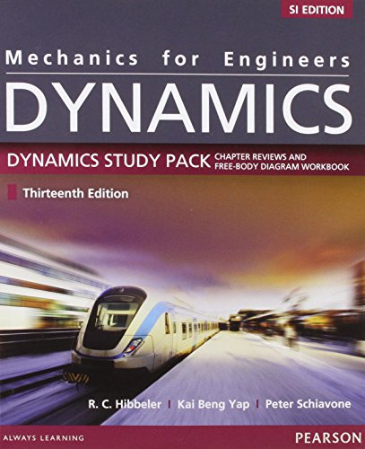 Mechanics for Engineers: Dynamics SI Study Pack