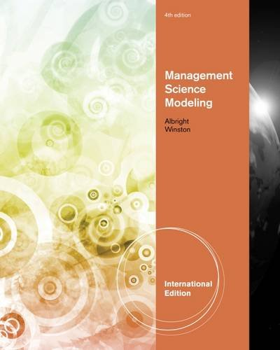 Management Science Modeling, International Edition