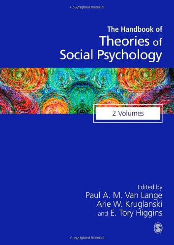 Handbook of Theories of Social Psychology