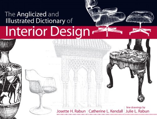The Anglicized and Illustrated Dictionary of Interior Design: Navigating the Minefield of Design (Fashion)
