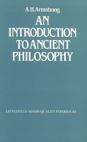 An Introduction to Ancient Philosophy (Littlefield, Adams Quality Paperback)