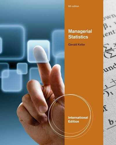 Managerial Statistics, International Edition (with Online Content Printed Access Card)