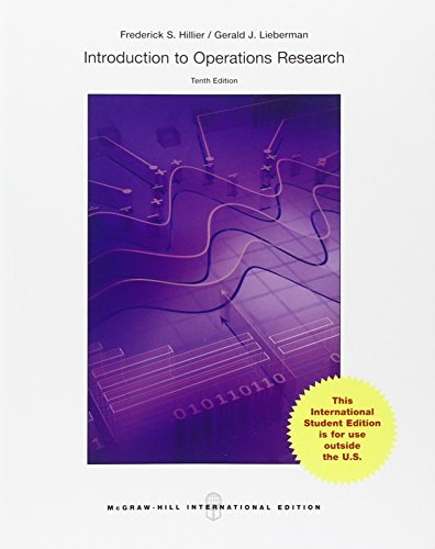 Introduction to Operations Research (Int l Ed)