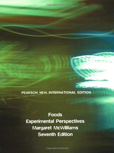 Foods: Experimental Perspectives